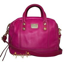 DIESEL MUSE N WARRIOR LEATHER BAG FUSCHIA PINK NEW $395