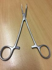 STAINLESS STEEL 5 INCH CURVED FISHING FORCEPS CURVED FORCEPS CARP FISHING