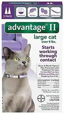 Advantage II Large Cat ~ Cats over 9 lbs, 2 Month Flea Control USA EPA APPROVED