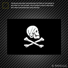 Jolly Roger Henry Every Flag Sticker Decal Self Adhesive Vinyl pirate flag