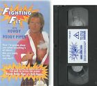ROWDY RODDY PIPER FIGHTING FIT WARM UP EXERCISES SELF DEFENCE + V HULK HOGAN VHS