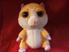 "Lil/Li'l Peepers 6"" approx Biscuit Hamster Soft Toy / Teddy by Russ Berrie"