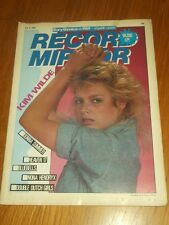 RECORD MIRROR JULY 9 1983 KIM WILDE DONNA SUMMER HEAVEN 17 STATUS QUO POLICE