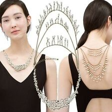 NEW ZARA VINTAGE PEARL BRIDAL OR EVENING STATEMENT CHAIN  Necklace Bloggers