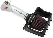 K&N 77 Series Polished Air Intake System fits 2011-2014 Ford F150 5.0L V8 Pickup