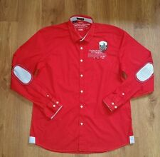 Nice mens long sleeved shirt from Napapijri. Size 3XL. Very good condition. Red