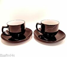 DESTINATION by NORITAKE China 8691 Stoneware Set(s) of 2 Cups & Saucers