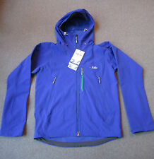 RAB Raptor Soft Shell Jacket DWS Mens M Medium Brushed interior mountaineering