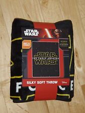 Disney Star Wars - The Force Awakens - Soft Throw Blanket