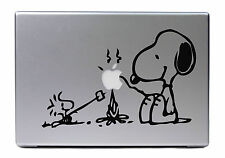 "Apple MacBook Air Pro 13"" SNOOPY & WOODSTOCK Sticker Adesivo Skin Decalcomanie"