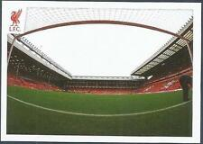 PANINI LIVERPOOL STICKER-2014/15- #187-ANFIELD-BACK OF THE NET!
