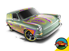 Hot Wheels Cars - Custom '69 Volkswagen Squareback Pale Green