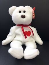 Valentino TY Beanie Baby Tag ERROR White Original Collection