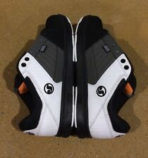 DVS Ignition Size 7.5 White Grey Black Nubuck Militia Havoc BMX DC MOTO Skate