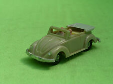 EKO VW VOLKSWAGEN KAFER BEETLE CONVERTIBLE - TAN -  EXCELLENT