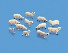 Modelscene 5110 Sheep & Lamb Set '00' Gauge = 1/76th Scale New - 1st Class Post