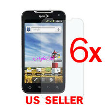 6x Clear LCD Screen Protector Guard Cover Film For LG Viper 4G LTE LS840
