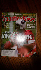 The Sporting News Vince Young Tennessee Titans #10 QB NFL BCS National Title