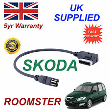 SKODA ROOMSTER MMI AZO800002 UF6 USB MEDIA IN  car Cable replacement