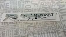 LOGO RENAULT SPORT RS EMBLEM SPORT CLIO 3 MEGANE 3, TWINGO 2 NEU/OVP ORIGINAL
