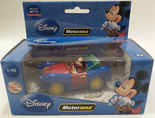 DISNEY :  MICKEY MOUSE & CAR DIECAST MODEL MADE BY MOTORAMA