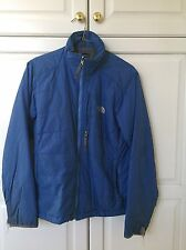 WOMENS THE NORTH FACE PRIMALOFT INSULATED PUFFY JACKET COAT SZ M Blue
