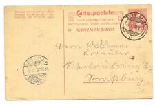 CPA ENTIER POSTAL SUISSE THUN