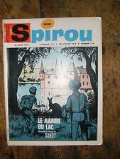 Spirou N° 1530 Sandy  BD 1967   Tif  Tondu Sophie Sammy Oncle Paul Bobo