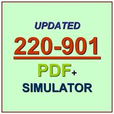 CompTIA A+ PLUS Certification Test 220-901 Exam QA PDF+Simulator