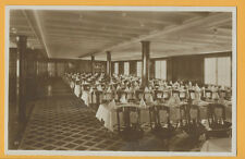 Hamburg South America Line Postcard - Monte Type Ship - Dining Room