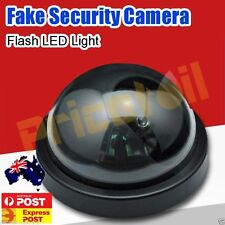 OZ Wireless Fake CCTV Dome Dummy Camera Security Surveillance Flashing LED Light