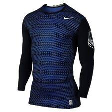 BRAND NEW!! NIKE PRO Dri-Fit Core COMPRESSION 657921-480 Football Shirt Sz L $40