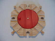 TURNTABLE ~ 8 way ~ for Wooden Train Track Set ( Brio Thomas ) ~ NEW