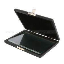 Clarinet /Saxophone Reed Case For 6 Reeds Internal Glass Pane Black