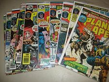 ADVENTURES ON THE PLANET OF THE APES 1 - 11 (MARVEL COMICS 1976) COMPLETE SET