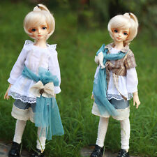 New Lovely Forest Style Grid Suit(6pcs) For BJD1/4 MSD Size Doll Clothes/Outfit