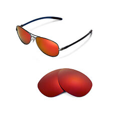 New Walleva Polarized Fire Red Replacement For Ray-Ban RB8301 59mm