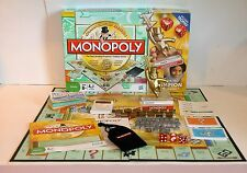 Monopoly Championship Edition Board Game 2009 Parker Bros With Champion Trophy