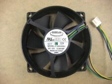 EVERFLOW F129025SU 90/80mm x25mm CPU Round Fan 12V 4Pin 0.38A  #M585 QL
