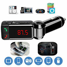 Wireless Bluetooth LCD FM Transmitter Modulator USB MP3 Player Car Charger Kit