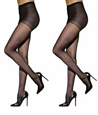 Pack of 2 Black Stocking New Soft Stretch Pantyhose Fashion Tights
