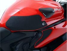 R&G BLACK 'EAZI-GRIP' FUEL TANK TRACTION GRIPS for DUCATI 1299 PANIGALE, 2015