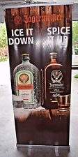 """Jagermeister POS Point of Sale Retractable Pop / Roll Up Banner 82"""" x 32"""""""