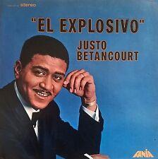 JUSTO BETANCOURT El Explosivo FANIA RECORDS Sealed Vinyl Record LP