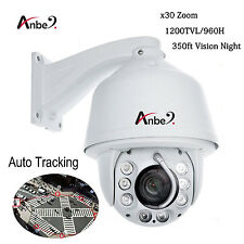 ANBER Auto Tracking 960H 30x Zoom 1200TVL PTZ High Speed CCTV DOME Camera