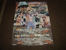 Kako je Poceo Rat na mom Otoku (How the War Started in my Island) (Cinema Poster