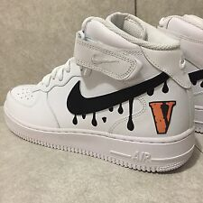 VLONE Air Force 1 Custom Size 12 *FREE SHIPPING TO USA* Bape Jordan XI Supreme