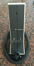 Motorola Desk Mic Astro Spectra, XTL HMN1050C Good Condition VHF/UHF/800