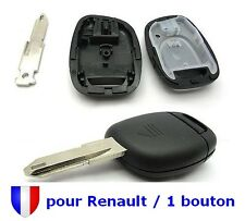 Shell Rks Housing Remote control Key for Renault Twingo Clio Scenic 1 Button