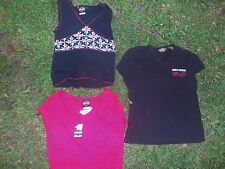 Harley-Davidson Women's ladies tops, Lot of 3 size Medium & Small, crop top +